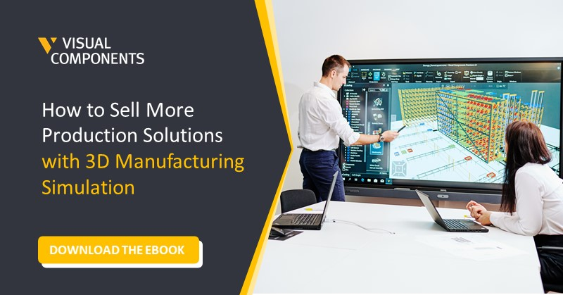 ebook how to sell more production solutions with 3d simulation